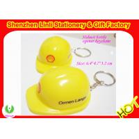 Buy cheap Supply plastic helmet shaped Personalized  bottle opener keychains Bar gift  from wholesalers