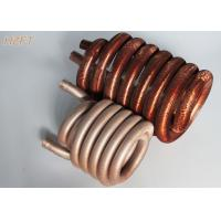 Buy cheap Copper or Copper Nickel Refrigerator Condenser Coil Tin plating outside surface from wholesalers