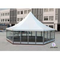 Buy cheap Aluminum Material High Peak Tents Glass Sidewalls For Meeting / Exhibition from wholesalers