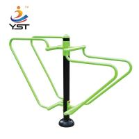 China Outdoor Playground Exercise Equipment For Adults 185 * 60 * 165 Cm on sale