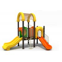Buy cheap toddler outdoor playground equipment child play slide kids playground slide from wholesalers