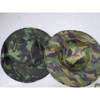 Buy cheap Outdoors Large Brimmed Fishing Hats Camouflage Bucket Hat Boonie Hunting Fish Army Outdoor Cap Bonnie Bucket Cap for Hik from wholesalers