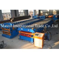 North America Popular Galvanized Steel Double Layer Roof Sheet Cold Roll Forming Machine Manufactures