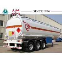 Buy cheap Easy Maintenance Fuel Tanker Trailer 40000 Kgs Payload 11500*2500*3700mm Dimension from wholesalers