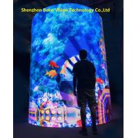China Front Service Bendable Led Screen Vedio Curtain indoor Buildings Hang Installation on sale