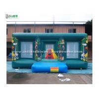 Buy cheap Commercial Jungle Themed Bouncy Castle , Rent Inflatable Bouncers from wholesalers