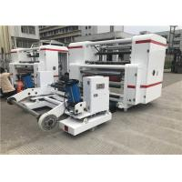 Buy cheap High Precision Label Slitter Rewinder Machine 1300mm Raw Material Width from wholesalers