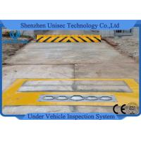 Buy cheap Uvss Fixed model under vehicle search system , under vehicle scanner Waterproof Anti Shock from wholesalers