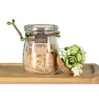 Buy cheap Wedding Decoration Empty Glass Jars Candle Holder Jam Pudding Bottle product