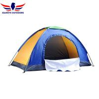 Buy cheap 1 Person 3 Seasons Outdoor Tent One Person Backpacking Tent 1.15KG Blue from wholesalers