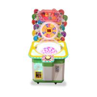 Buy cheap Lollipops Candy Gift Vending Machine Coin Operated Games Arcade Cartoon Candy Amusement Game Machine for kids from wholesalers