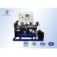 Screw Air Cooled Condensing Units R404a Fusheng For Cold Storage