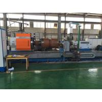 Buy cheap High Precision CNC Horizontal Lathe Machine / Roll Turning CNC Heavy Duty Lathe product