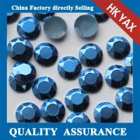 Buy cheap China Factory 2mm 3mm Silver Gold Matte hot fix rhinestud manufacturers for apparel from wholesalers