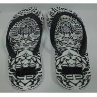 Buy cheap Engraved sole Men beach thong, flip flops from wholesalers