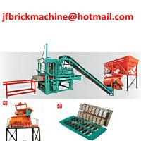 Buy cheap Cameroon Stationary Cement Block Making Machine with best price from wholesalers