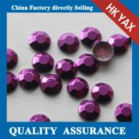 Buy cheap China Bulk Price Fashion Amethyst Colors 5mm 6mm transfer decorative studs for shoes clothes from wholesalers