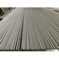 Wholesale A213 TP304 / 304L Stainless Steel Seamless Pipe 33.7mm*1.5mm*3200mm 100% ET / HT from china suppliers