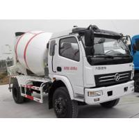 Buy cheap 4X2 4M3 Concrete Mixer Truck Self Loading 4 Cubic Meters For Sinotruk DFAC from wholesalers