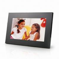 Buy cheap 9-inch Acrylic Multimedia Digital Photo Frame, Hot Key Design for Easy Access to Each Mode from wholesalers