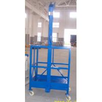 Buy cheap Single Person Suspended Working Platform , ZLP100 50HZ Tower Crane Hoist from wholesalers