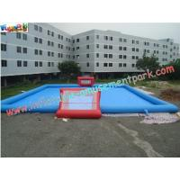 Buy cheap Durable Inflatable Sports Games , Soapy Water Football Field from wholesalers