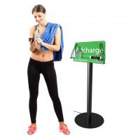 Buy cheap Free stand billboard cell phone charging station from wholesalers