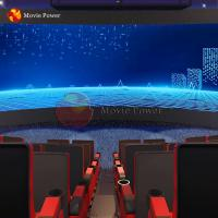 Buy cheap Digital Special Effects Experience Curved Theater 4d Servo Motor Arc Screen Projector Cinema from wholesalers