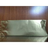Buy cheap Three Side Seal Ziplock Coffee Bags PET / NY / PE Oxygen Resistance Customized from wholesalers