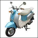 Buy cheap 49.5cc/4-stroke/1-cylinder/air-cooled/Moped Scooter(SR-MC09) from wholesalers