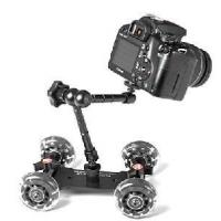 Buy cheap Video DSLR Dolly with Wheels & Articulating Magic Arm from wholesalers