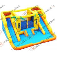 High-Strength Pvc Inflatable Water Parks Mini Mobile Water Park Games For Kids Manufactures