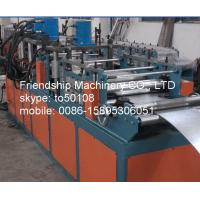 Buy cheap 11Kw GI 2MM Thickness VCD (fire resisting damper) Frame Roll Forming Machinery For Making Fire Damper Frame 292mm from wholesalers