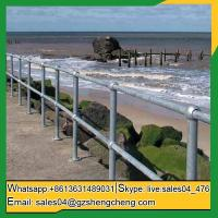 Buy cheap Boodarie ball joint baluster steel barrier fence for wharfs from wholesalers