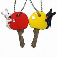 Wholesale Rabbit PVC Keycovers, Ideal for Promotional Premiums, Customized Gifts, OEM/ODM from china suppliers