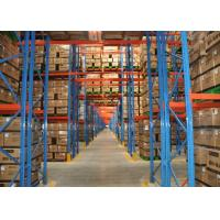 Buy cheap Economical Warehouse Adjustable Pallet Rack Storage Systems With Stable Structure product