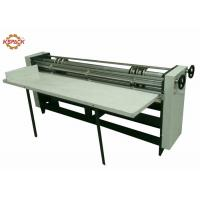 Buy cheap Manual Feeder Slitting Cutting Creasing Machine / Slitter Cutter Creaser from wholesalers