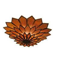 Buy cheap Beautiful round glass ceiling lamp from wholesalers