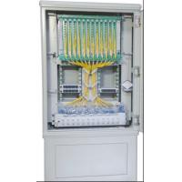 Buy cheap Jumper Free Fiber Optic Cross Connect Cabinet / Communication Cabinet product