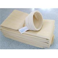 Buy cheap Flame Retardant Cement Dust Filter Bag Large Filtration Surface Area from wholesalers