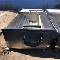 Buy cheap 1.5kw Fruit Washing Equipment , Electric Control Tomato Washing Machine product