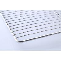 Buy cheap Food Grade Stainless Steel BBQ Tray / Wire Mesh Barbecue Grill Tray from wholesalers