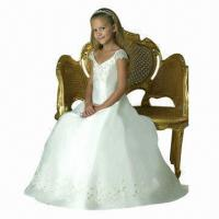 Buy cheap Girl's Dresses, Embroidery Flower from wholesalers