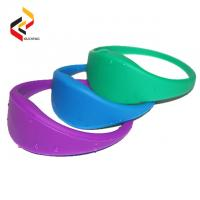 Buy cheap Hot sale RFID silicone wristband RFID led wristband,RFID woven wristband from wholesalers