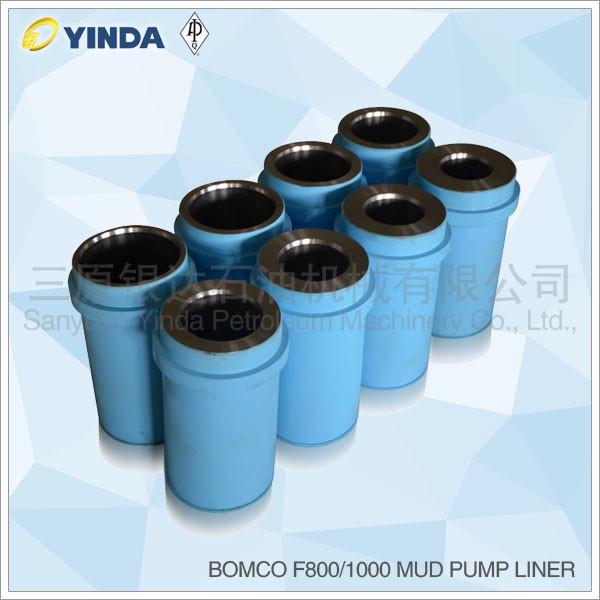 Buy cheap Cast Iron Triplex Mud Pump Accessories Liner Chromium Content 26-28% Bomco F800 from wholesalers