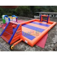 Buy cheap 16x8 Meter Inflatable Soccer Arena / Inflatable Soap Football Field from wholesalers