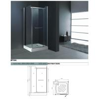 Buy cheap Multifunctional Hi - Fi System Star Background Light Framed Glass Common Shower Room  from wholesalers