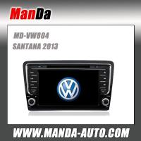 Buy cheap Manda 2 din touch screen car multimedia for VW SANTANA 2013 in-dash dvd player gps satellite radio from wholesalers