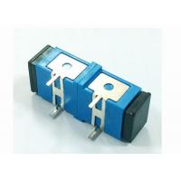 China Singlemode SC UPC Fiber Optic Adapter with Press-fit Elastic iron used For PCB circuit board on sale