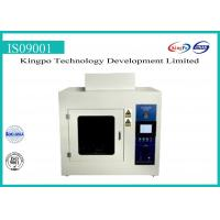 Buy cheap High Efficiency Flame Test Equipment / Glow Wire Test Apparatus Equipment from wholesalers
